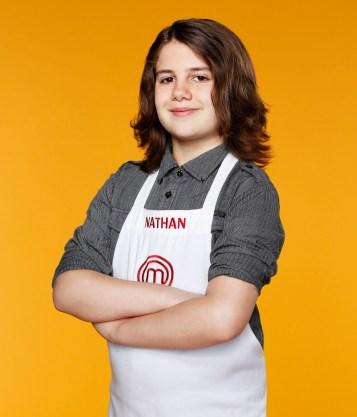 MASTERCHEF: JUNIOR EDITION: Contestant Nathan, 12, from San Diego, CA. CR. Greg Gayne / FOX. © FOX Broadcasting Co.