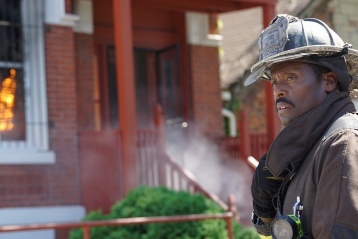 """CHICAGO FIRE -- """"Regarding This Wedding"""" Episode 405 -- Pictured: Eamonn Walker as Chief Wallace Boden -- (Photo by: Elizabeth Morris/NBC)"""