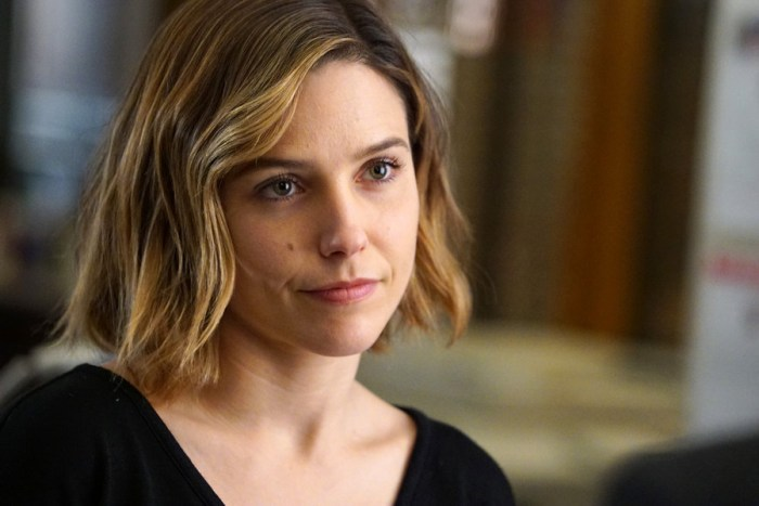 """CHICAGO P.D. -- """"The Song of Gregory Williams Yates"""" Episode 314 -- Pictured: Sophia Bush as Erin Lindsay -- (Photo by: Elizabeth Morris/NBC)"""