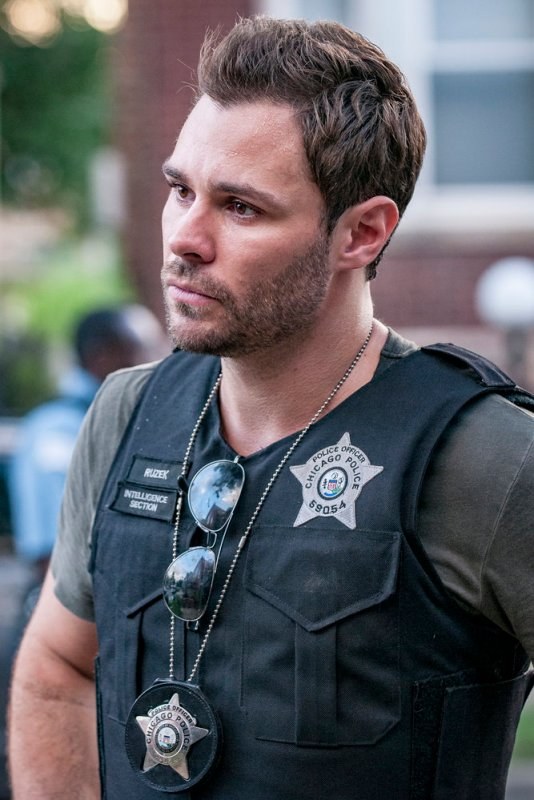 "CHICAGO P.D. -- ""Made a Wrong Turn"" Episode 402 -- Pictured: Patrick John Flueger as Adam Ruzek -- (Photo by: Matt Dinerstein/NBC)"