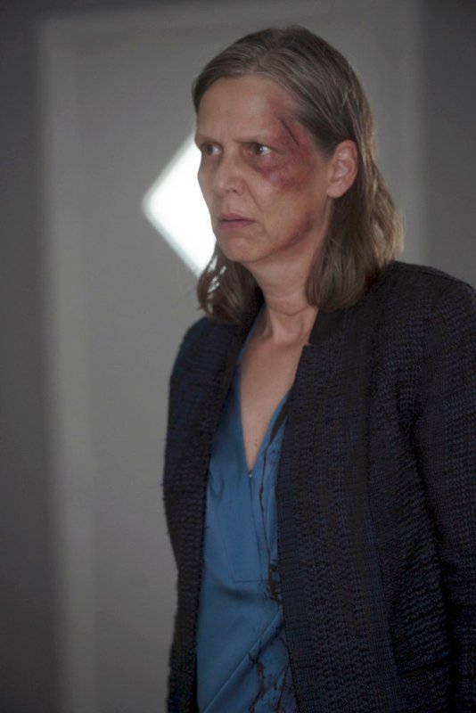 """CHICAGO P.D. -- """"All Cylinders Firing"""" Episode 405 -- Pictured: Amy Morton as Trudy Platt -- (Photo by: Jean Whiteside/NBC)"""