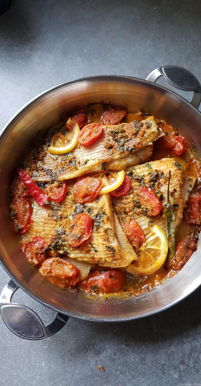 Recette Aile De Raie A La Poele : recette, poele, Ailes, Tajine, Tasty, Cuisine