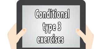 Conditional type 3 exercisesss