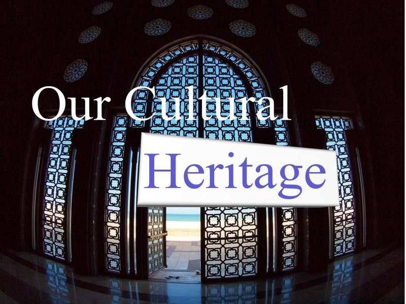 honoring our culture and heritage Get expert answers to your questions in conservation and restoration of cultural heritage and communities like to preserve their heritage is our heritage.