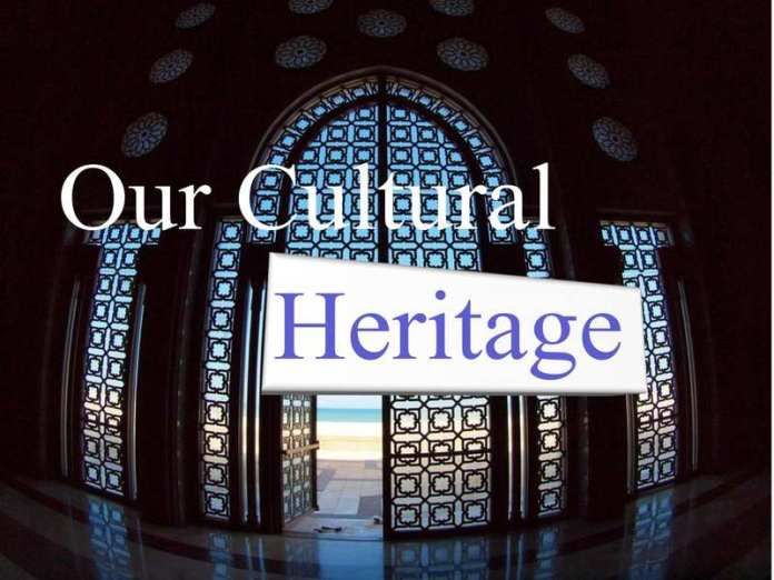 Gateway 1 Unit 2 our cultural heritage