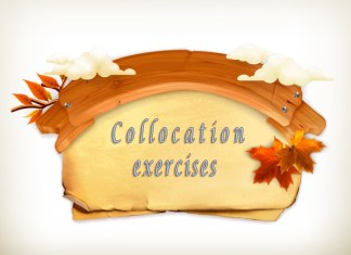 Collocation exercises