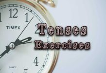 tenses exercises