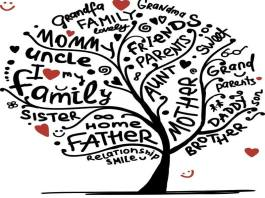 learn family members vocabulary
