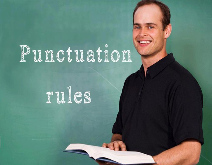 Punctuation rules