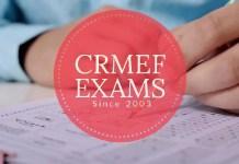 CRMEF Exams