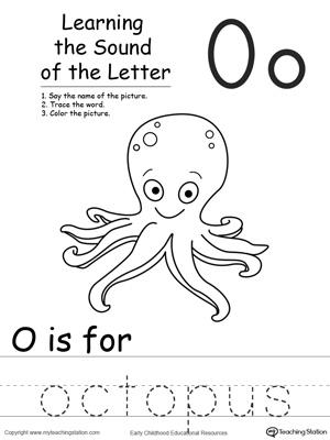 Kindergarten Worksheets » Letter O Kindergarten Worksheets