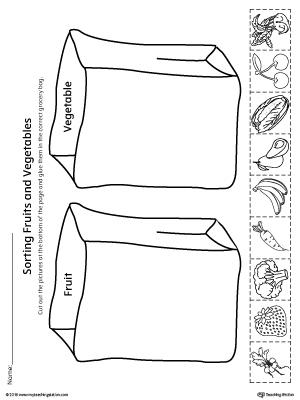 Kindergarten Plants and Animals Printable Worksheets