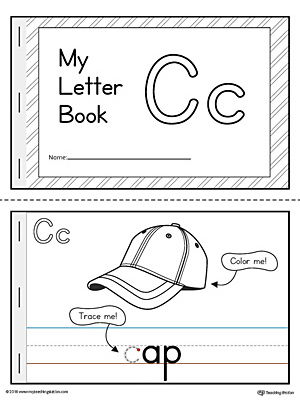 Letter C Mini Book Printable Myteachingstation Com