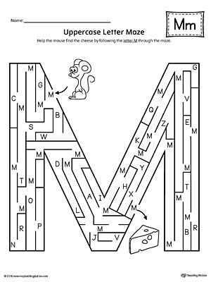 Letter M Beginning Sound Picture Match Worksheet