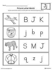 Letter J Preschool Worksheets Pictures For. Letter. Best ...