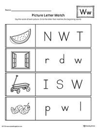 All Worksheets  Letter W Worksheets - Printable ...