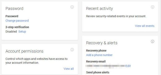 how to find my google account password