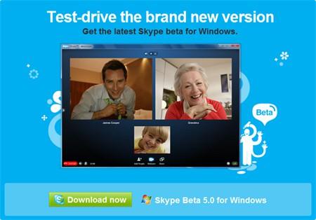 skype 5 group video call