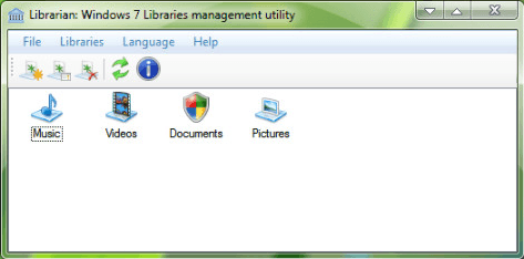 Librarian: Windows 7 Library Manager