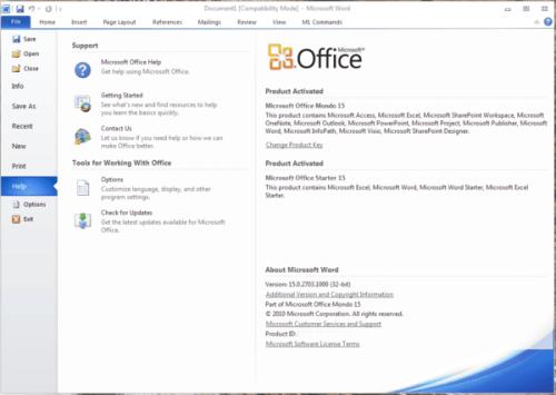 Microsoft Office 15.0.2703.1000