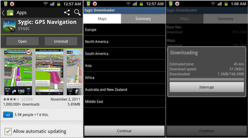 Sygic GPS Navigation For Android Full Review - Sygic gps review