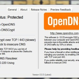 OpenDNS DNSCrypt for Windows