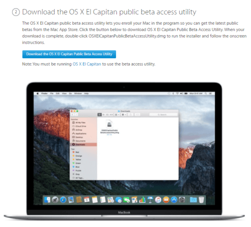How to Install OS X 10 11 4 El Capitan Public Beta