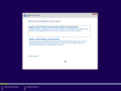Windows 10 Custom Install