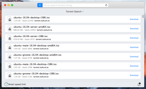 Search Torrent Using Folx 5