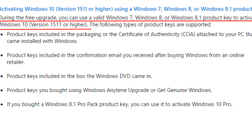 Windows 81 archives my technology guide you cannot activate windows 10 using windows 7 8 81 product key after july 29 2016 ccuart Images