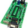 Buy Atmel 8051 Microcontroller Project Low Cost Development Board with MAX232 & AT89S52 IC Support AT89S51,AT89S52, P89V51RD2, etc 40 Pin DIP 8051 IC | Full development KIT MY8051 Small Development Board Project Board MY TechnoCare www.MyTechnocare.com