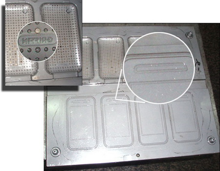 Apple case mold