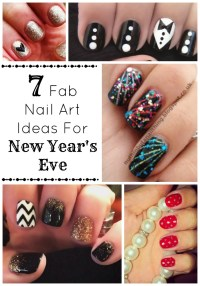 7 Fab DIY Nail Art Ideas For New Year's - My Teen Guide
