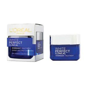 White Perfect Clinical Overnight Cream in Pakistan