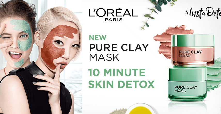 L'oreal Pure Clay Mask in Pakistan