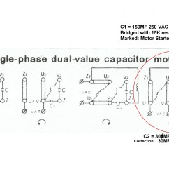 220 volt condenser wiring diagram simple wiring schema two speed motor starter wiring diagram split phase dual voltage motors wiring diagram [ 3229 x 2480 Pixel ]