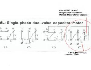 [SOLVED] Slow start 220V single phase induction motor
