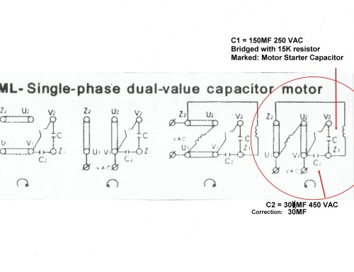 small resolution of re slow start 220v single phase induction motor