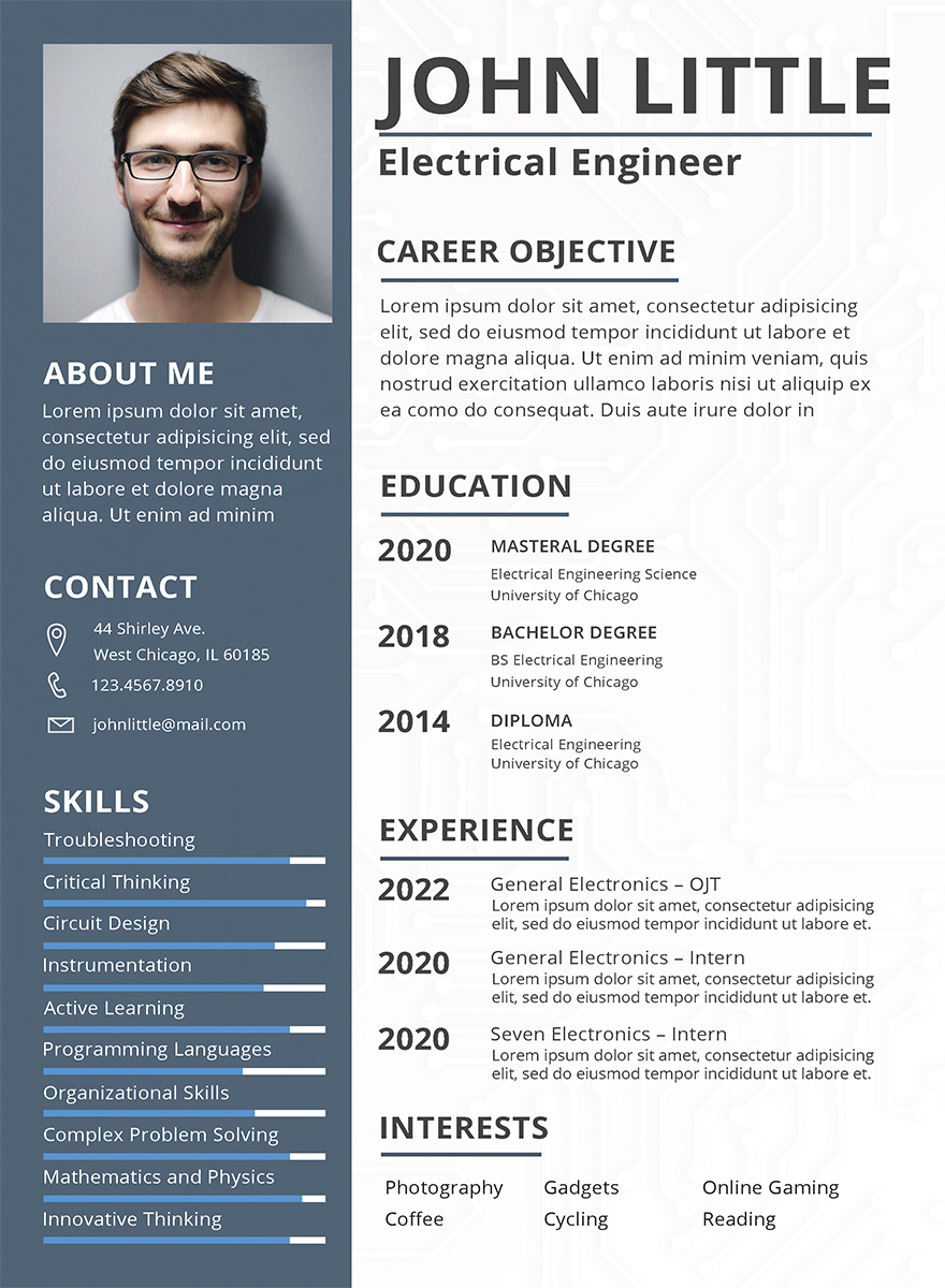 10 Simple Fresher Resume Templates