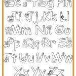 Alphabet Worksheets for Kids Coloring Pages Of Free Printable Alphabet Coloring Pages for Kids