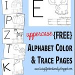 Alphabet Worksheets for Kids Free Printable Of Free Uppercase Alphabet Tracing Pages