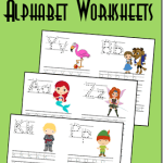 Alphabet Worksheets for Kids Of Free Disney Alphabet Coloring Pages
