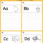 Alphabet Worksheets for Kids Tracing Letters Of Download Free Alphabet Tracing Worksheets for Letter A to Z Suitable for Preschool Pre K or Kindergarten Class there are Two Layouts Available Tracing with Lines or Free form Tracing with Boxes Visit Us at for More Preschool Activities