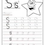 Alphabet Worksheets for Kids Tracing Letters Of Printable Letter S Tracing Worksheets for Preschool Printable Coloring Pages for Kids