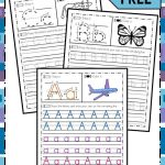Alphabet Worksheets Handwriting Practice Of A Z Handwriting Practice No Prep Worksheets for Learning Letters
