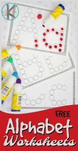 Alphabet Worksheets Learning Of Free Alphabet Worksheets these Simple Abc Worksheets are A Great Printable to Help Children Practice their Letters Using Do A Dot Markers Perfect Free Printable for toddler Preschool and Kindergarten