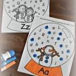 Alphabet Worksheets Lowercase Of Free Snow Globe Letter Find
