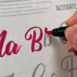 Alphabet Worksheets Videos Of Calligraphy Alphabets What are Lettering Styles