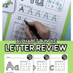 Alphabet Worksheets Videos Of In Our Alphabet Bundle is now Available Our Letter Review Worksheets