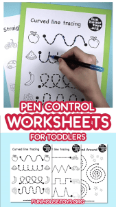 Alphabet Worksheets Videos Of Our Pen Control and Tracing Printables are A Fun Way to Teach toddlers How to Hold and Use A Pe
